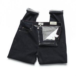 福利款男款原色单宁牛仔裤修身小脚裤可养牛的弹力休闲长裤潮
