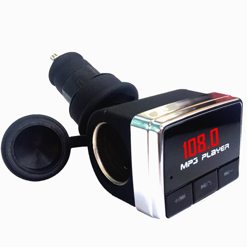 车载蓝牙MP3播放器一拖一点烟器U盘快充电器fm发射汽车用品多功能
