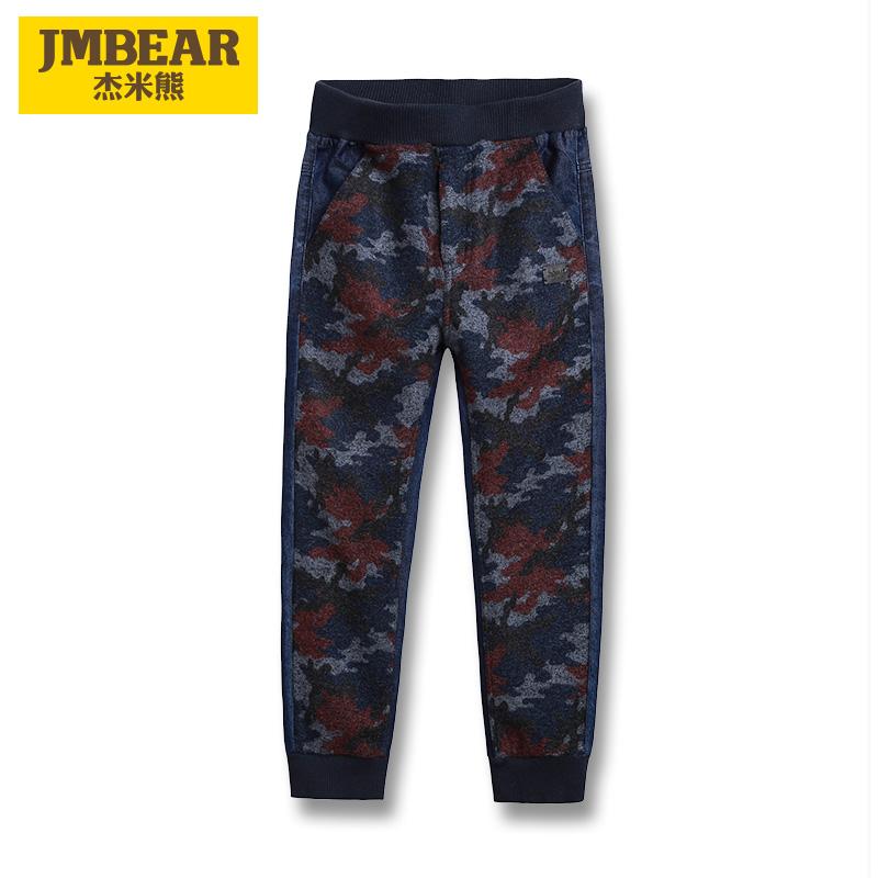 傑米熊中大童兒童迷彩褲
