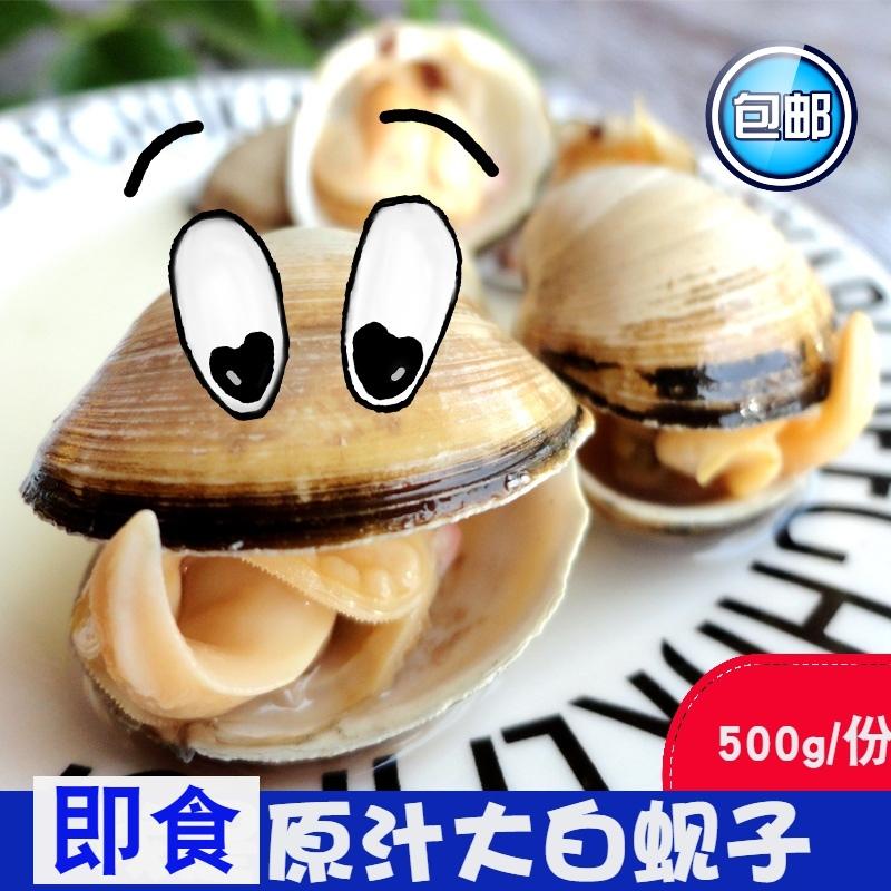 熟制品大白蚬子即食白蛤小食品蛤蜊真空海鲜辽宁特产零食野生海味