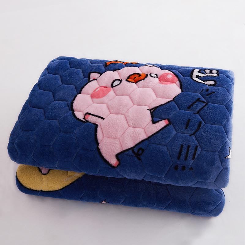 可水洗软垫1.8双人家用床褥垫褥子(非品牌)