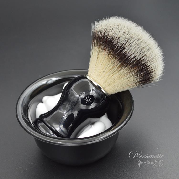 Бритье щетка усы щетка мужской царапина ху щетка бритье специальный бритье мыло щетка стерильный искусственный провод мех ху щетка