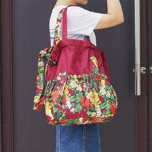 韩版时尚潮流印花尼龙背包欧美百搭三用包2021新款双肩包女小包包