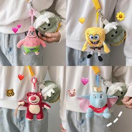 可爱玩偶少女心卡通毛绒公仔娃娃钥匙扣包包挂件学生书包包装饰
