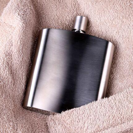 304不锈钢小酒壶随身迷你日式金属创意户外便携式酒壶男士装酒瓶