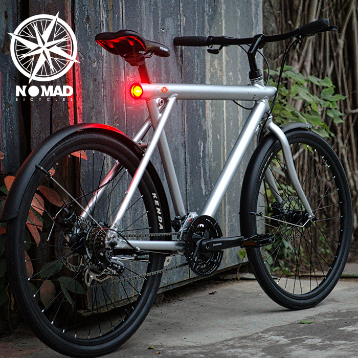 Nomad城市公路车日本复古自行车男式进口21变速山地自行车限4000张券