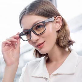 智能音乐眼镜蓝牙立体声耳机接打电话防蓝光透明镜片开放式音频