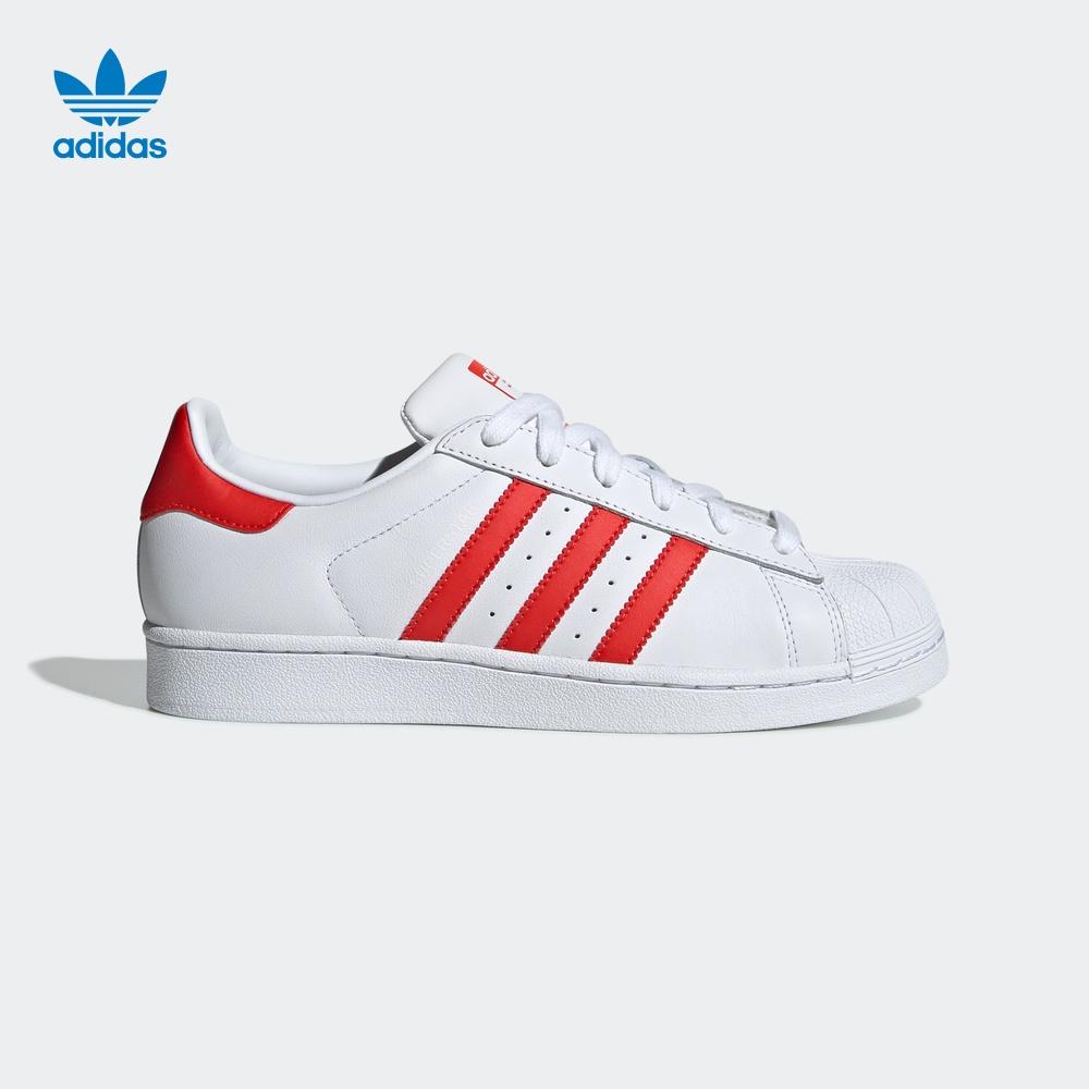 10月18日最新优惠阿迪达斯官网superstar w运动鞋