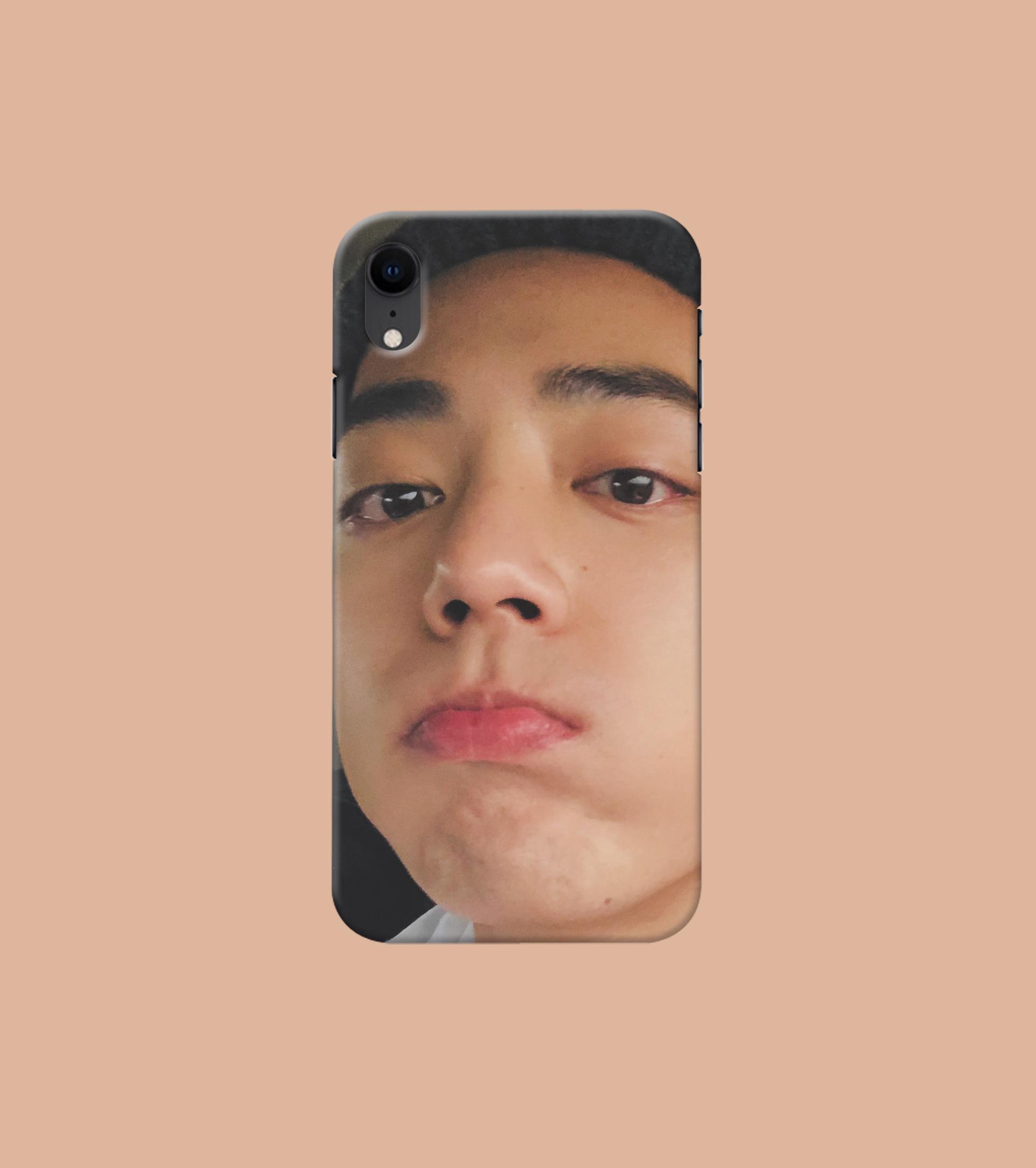 (用1元券)肖战同款大头挡脸iphone11手机壳