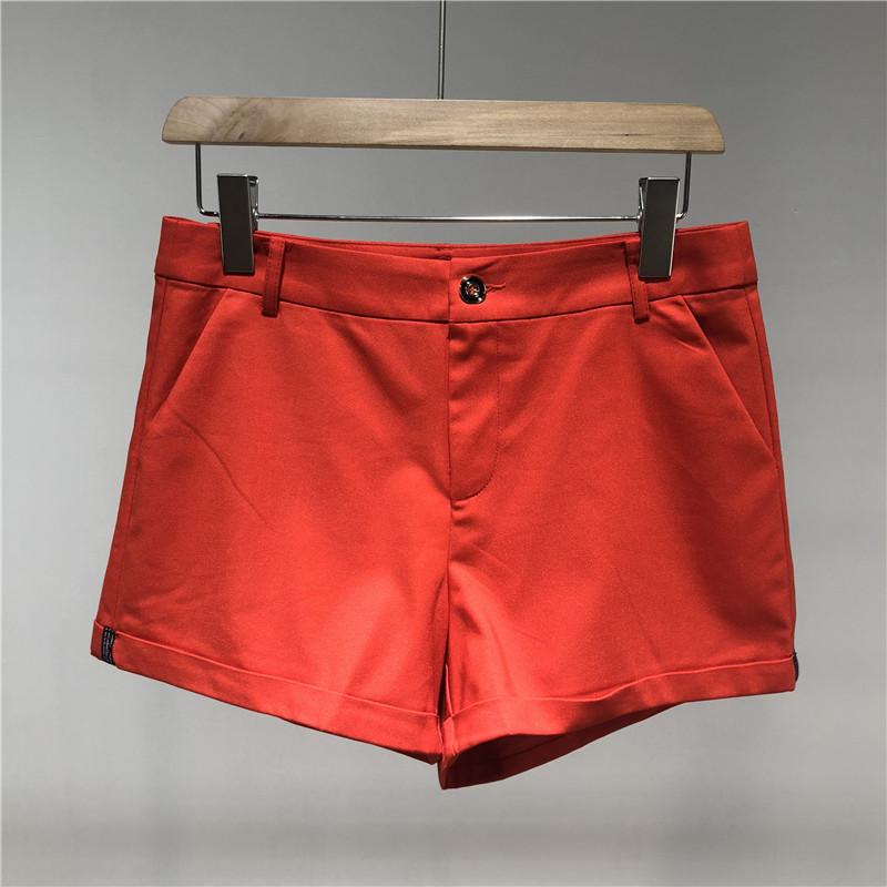 【17精品女装】S◆品牌折扣店商场撤柜女装专柜正品剪标新款短裤