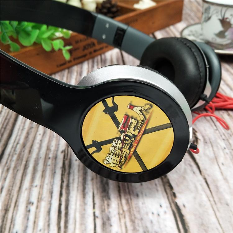 清货包邮 进击的巨人头戴式耳机 可延长 动漫3c数码周边 学生礼物
