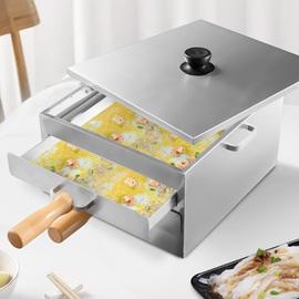 家用小型肠粉机304不锈钢单双层拉肠蒸炉机迷你抽屉式工具家庭装图片