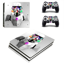 Ps4pro Body Sticker PS4 anti-scratch waterproof dustproof anime color map Ps4pro Electrostatic sticker rocker Cap 95