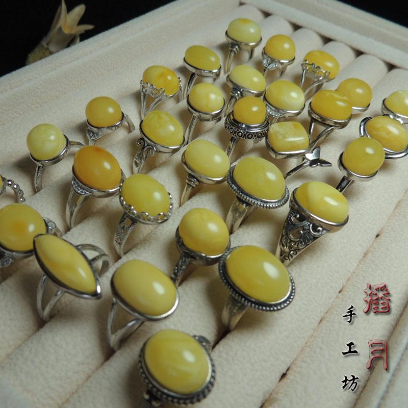 925純銀原石無最適化蜜蝋琥珀女史指輪純手作業で仕上げた上質なバッグです。