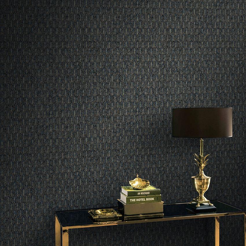 近代的な北欧は贅沢で簡単です。アメリカン羽の木の葉の寝室の書斎の壁紙の不織布の壁紙の壁紙
