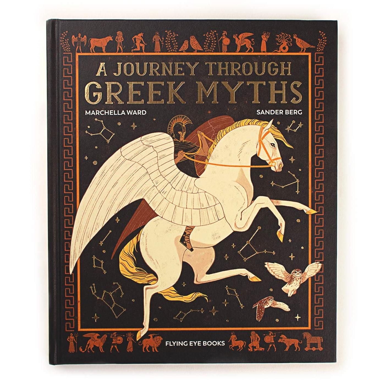 英文原版 希腊神话之旅 瑞典插画师Sander Berg 精装 绘本故事集 A Journey Through Greek Myths