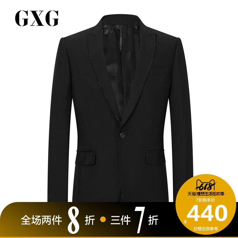 冬季热卖时尚韩版男士黑色商务西服