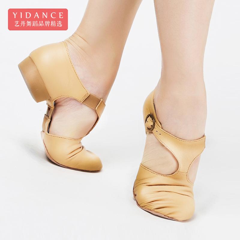 Флейта птица ребенок натуральная кожа учитель шнурки сопровождать сэр обувь танец обувной женщина для взрослых мягкое дно балет форма тело практика гонг обувной