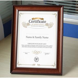 证书框营业执照框正本a3保护表奖状裱框架画框挂墙a4荣誉相框定做