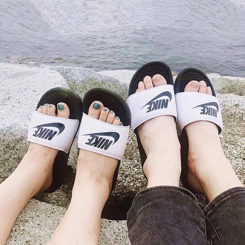 NIKE耐克正品男女BENASSI夏季沙滩鞋鸳鸯运动休闲拖鞋343880-100限10000张券