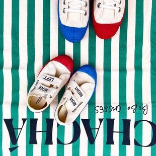 現貨 bobo choses novesta 20春夏 合作款兒童舒適魔術貼帆布鞋