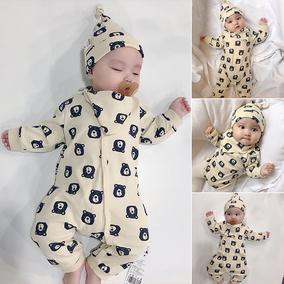 女婴儿童装连体衣服男宝宝夏装睡衣