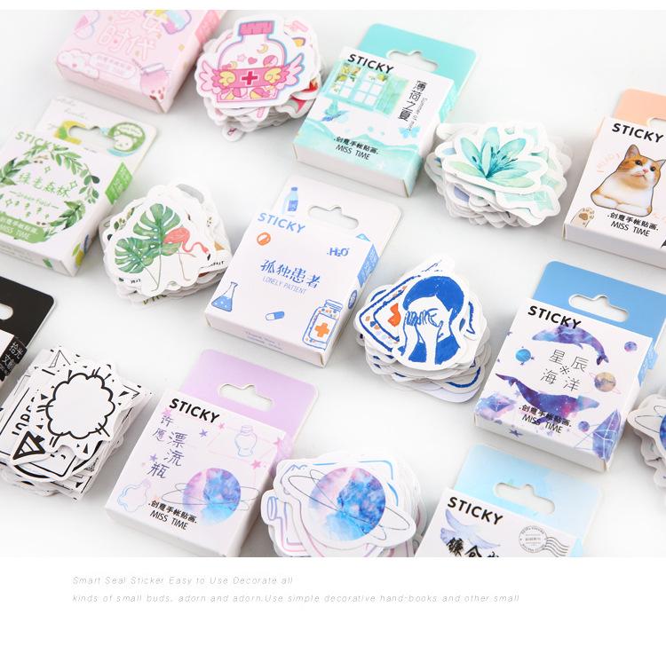 韓国手帳ステッカー手帳ステッカーバッグdiy少女時代素材携帯日記飾りアイデアボックス