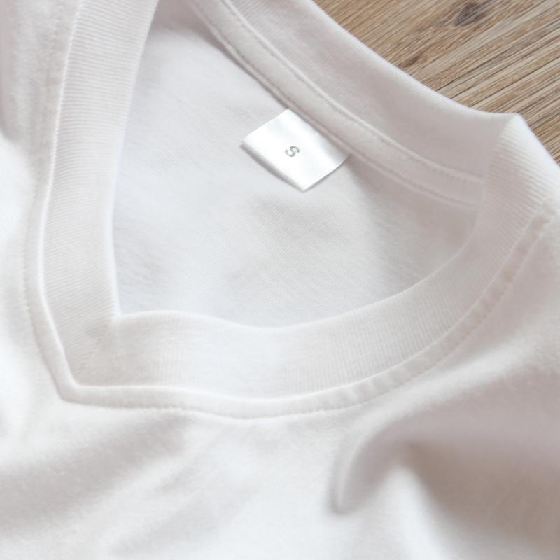 (两件装) 200g日本重磅厚实纯棉V领短袖基础款打底衫T恤男女体恤