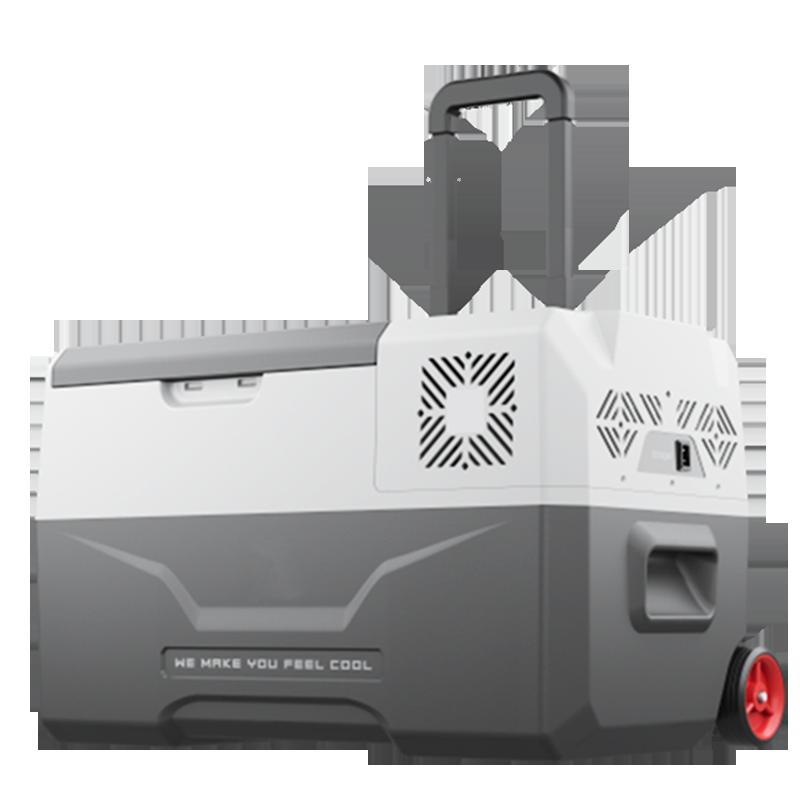 10月16日最新优惠冰虎车载冰箱制冷拉杆车家两用12v24v货车压缩机冷冻冷藏便携冰箱