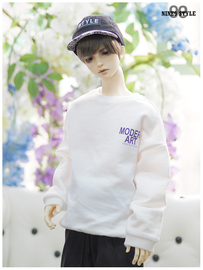Nine9 Style 娃衣 [SDB] Color casual over MTM (White)