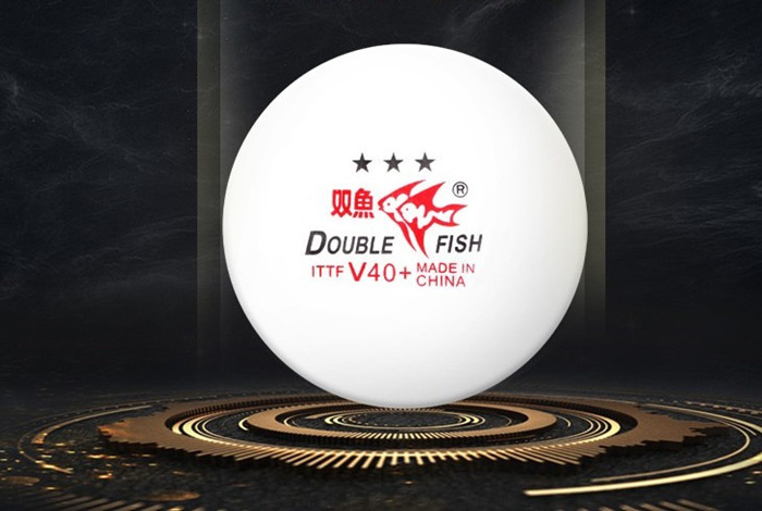 New material V40 + table tennis double table tennis likes big ball, can play hard ball