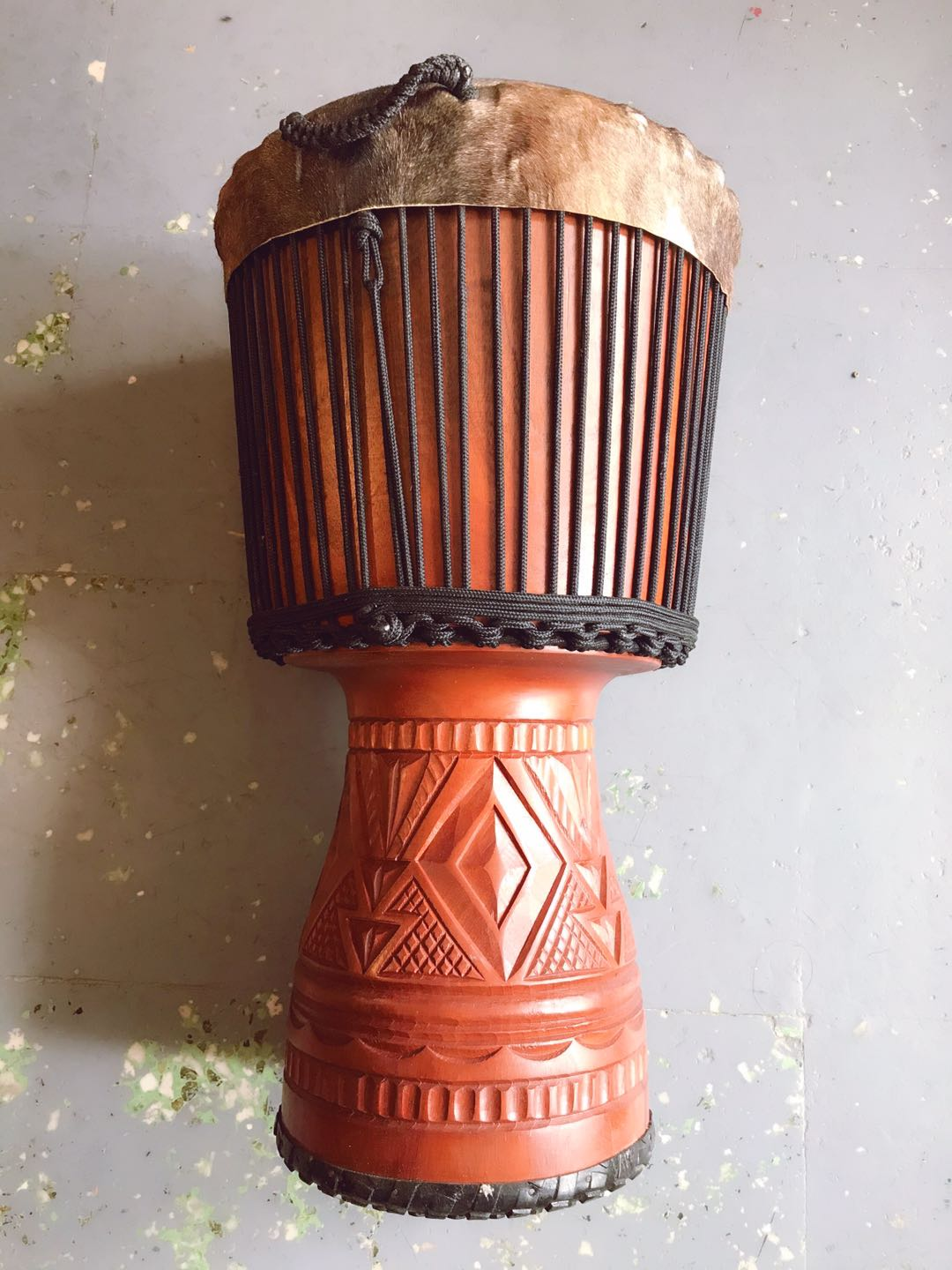 FS flyer hardwood 12 inch professional high end stage performance African drum manding folk accompaniment handdrum Djembe