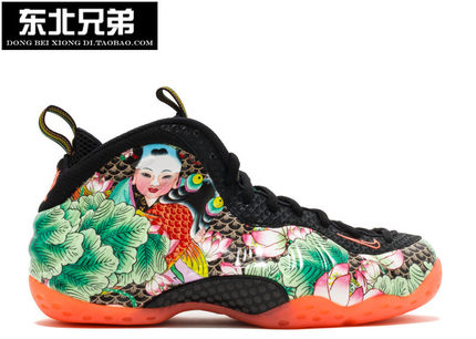 Nike Air Foamposite One QS 天津喷 柳叶青 744307-001