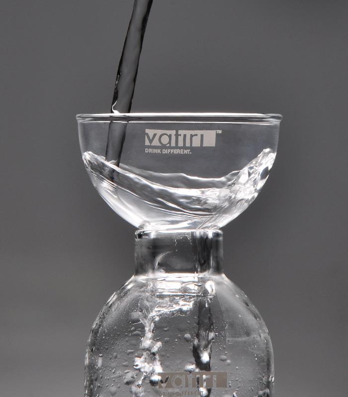 正品Vatiri乐怡手工玻璃茶具耐热玻璃漏玻璃瓶厨房过滤小号漏斗
