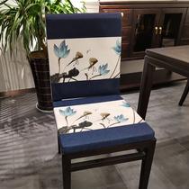新中式现代红木沙发坐垫椅垫太师座垫椅子垫子餐椅实木椅加厚防滑