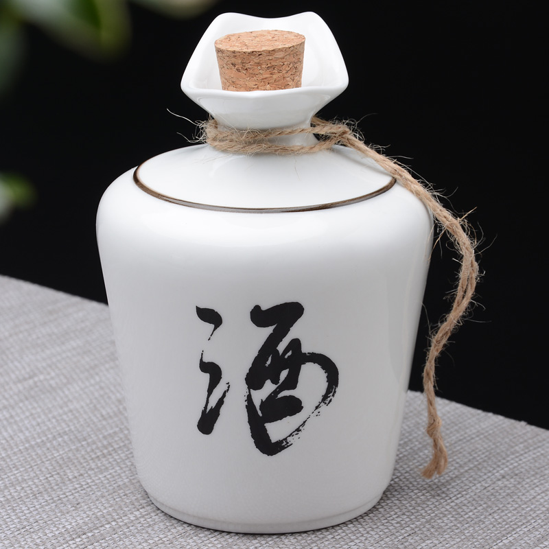 Chinese style hot wine cup ceramic wine distributor warm wine pot portable warm wine household loose wine pot with lid boiling wine pot