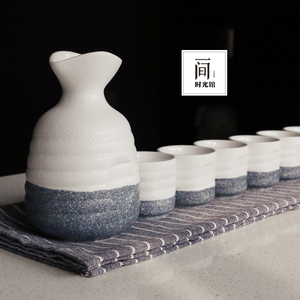 领5元券购买日式和风清酒小酒壶陶瓷酒具烈酒杯