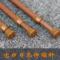 木纹色简易安装免打孔伸缩杆浴帘绷纱半帘专用撑杆窗帘杆
