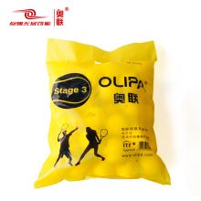 Olipa Olympic League KIDS3 Short-style Soft Transition Tennis Kids Learn Yellow Sponge Big Tennis Bag