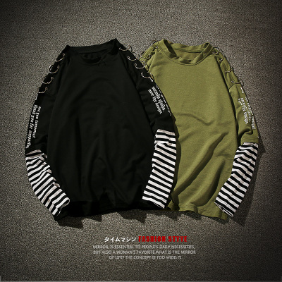 2017秋季宽松假两件大码男士卫衣外套 平铺暗黑风 BK18 P58