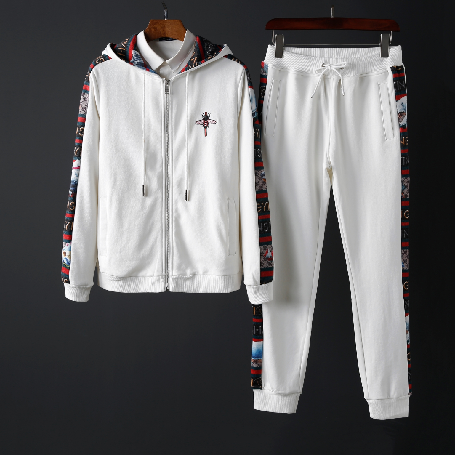 A274/C6601#秋冬高品质 运动休闲套装开衫卫衣外套长裤P200