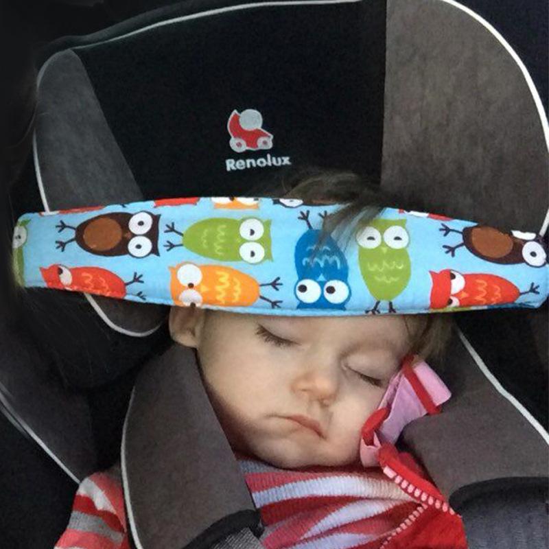 Baby stroller safety seat headrest baby seat dozing safety belt sleeping artifact