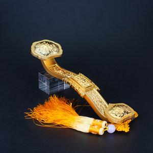 金如意双色镀金工艺风水摆件寺庙庙宇活动用品法事赠品佛缘礼物