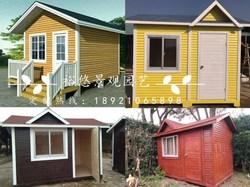定制户外小木屋移动售货组装木屋设备房售货亭简易木房子度假木屋