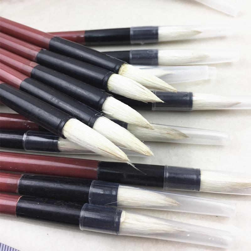 Трехфазные большие, средние и малые белый Облачная кисть / промышленная ручка обычный Ручка для пера / верх Цветная ручка