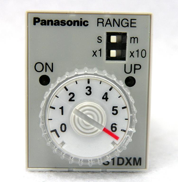 原厂松下电工 panasonic 可调时间继电器 S1DXM-A2C60M-DC24V