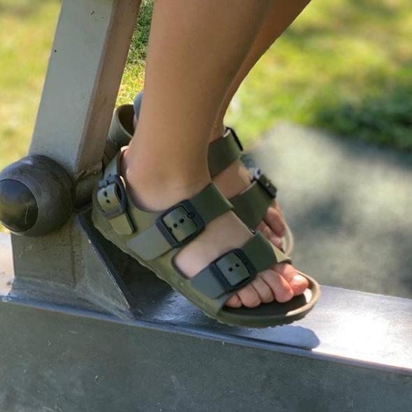英美采购 勃肯童鞋 BIRKENSTOCK EVA 男女童凉鞋 踩水沙滩鞋