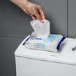 日本进口马桶消毒湿巾一次性杀菌去污清洁擦马桶加厚湿纸巾45片装