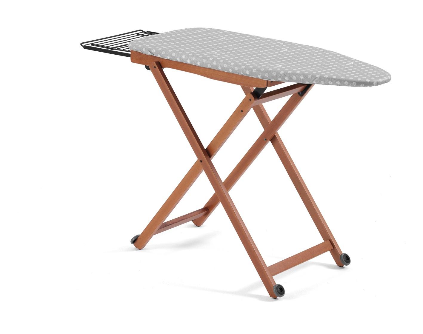 Импортный итальянский DLAC домой сложить горячей одежда арматура дерево один рабочий стол железо вешалка железо одежда