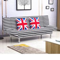 小户型北欧客厅卧室单双人出租房简易多功能可折叠懒人沙发床包邮
